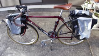 ミヤタアイガーで自転車日本一周します!【ランドナ―】