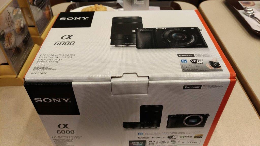Sony α6000開封の儀