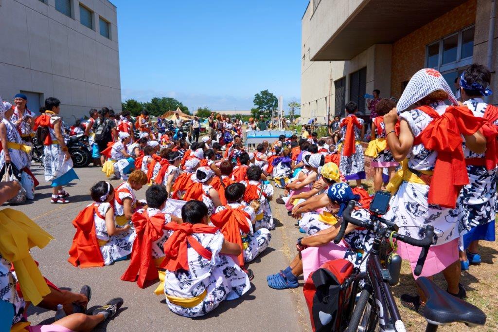 ねぶた祭り前の定例集会