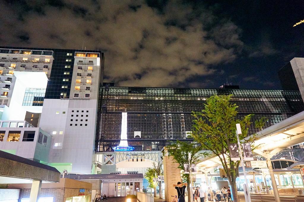 【青春18きっぷ】博多から京都まで移動!ムーンライトながらは残念ながら満席