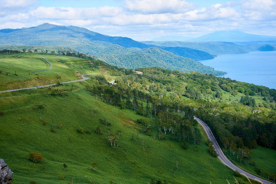 美幌峠から眺める屈斜路湖と和琴半島散策!【日本一周136日目】