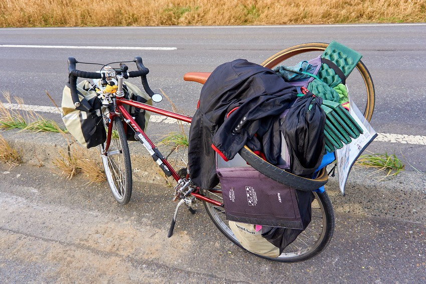 旅前半最終日は180km越え!苫小牧で無事終了!!【日本一周155日目】
