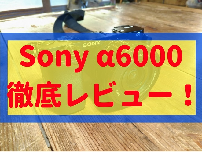 α6000レビュー