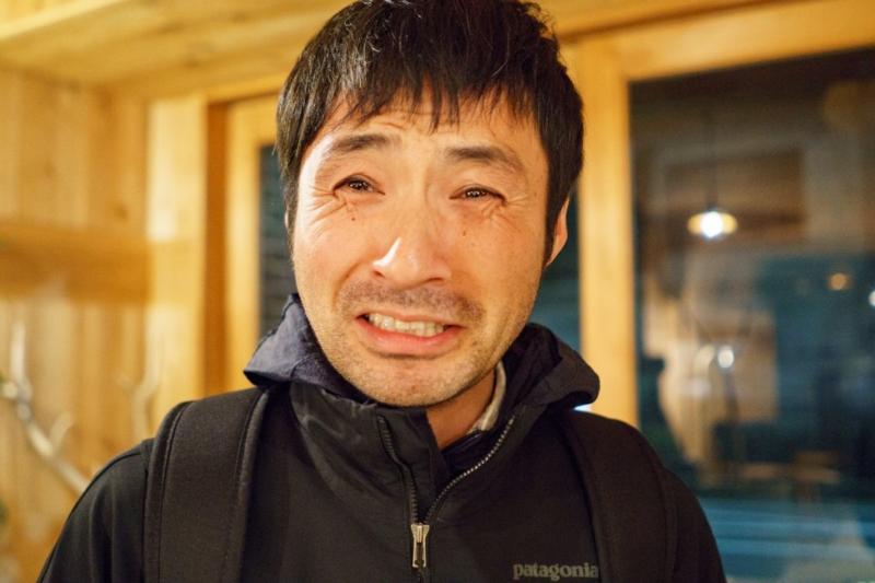 泣きそうな地域おこし協力隊の吉田さん