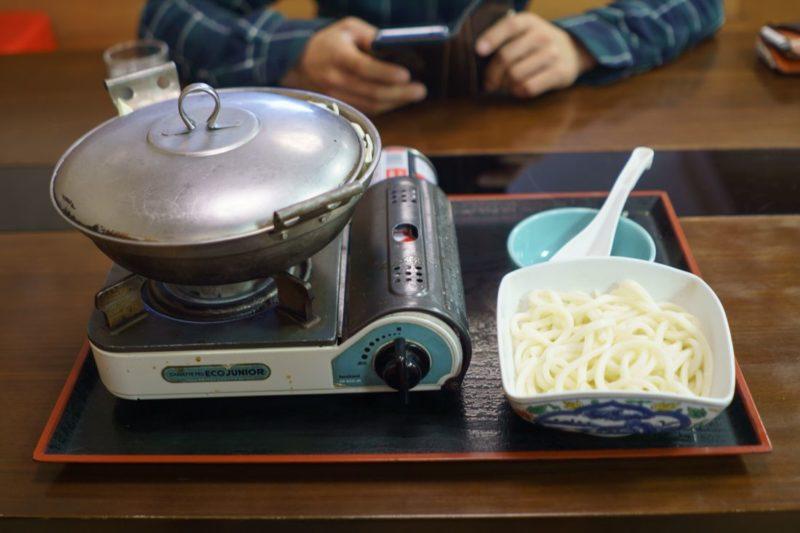 ホルモン入り野菜炒めうどん980円