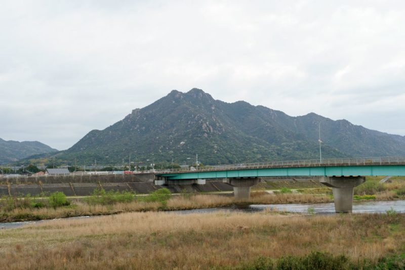 山口方面の山