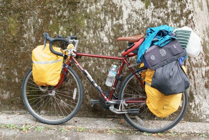 自転車ランドナ―アイガー
