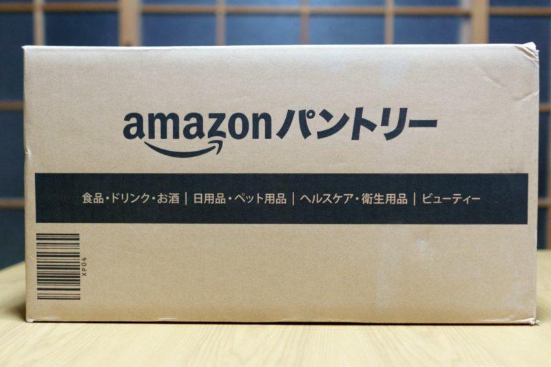 Amazonパントリーの箱