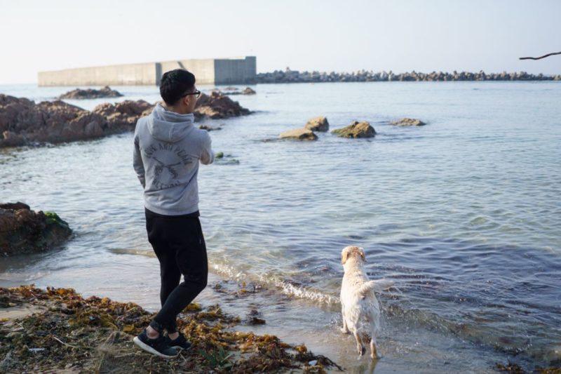 塩満さんと犬