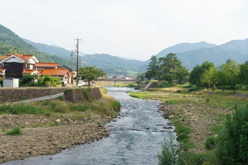 津和野の川
