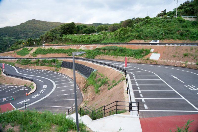 元乃隅稲成神社駐車場