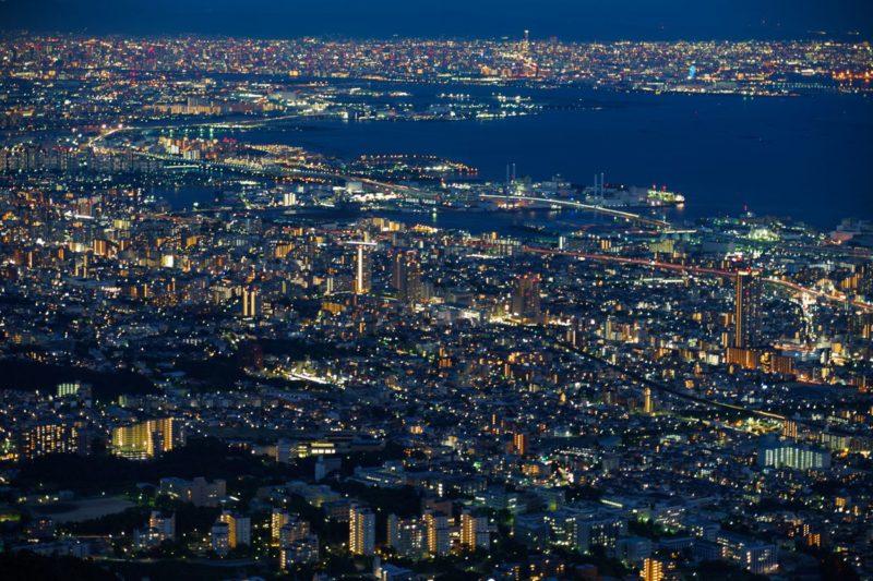日本三大夜景、神戸