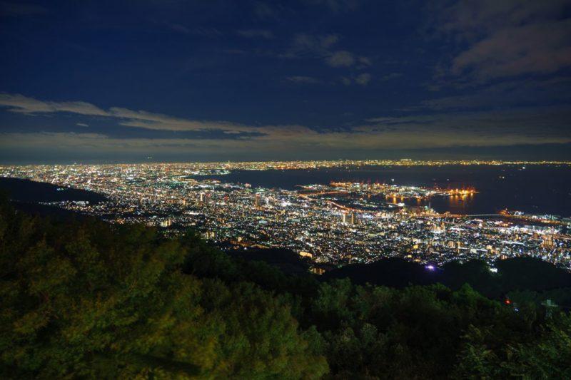 掬星台から見る日本三大夜景