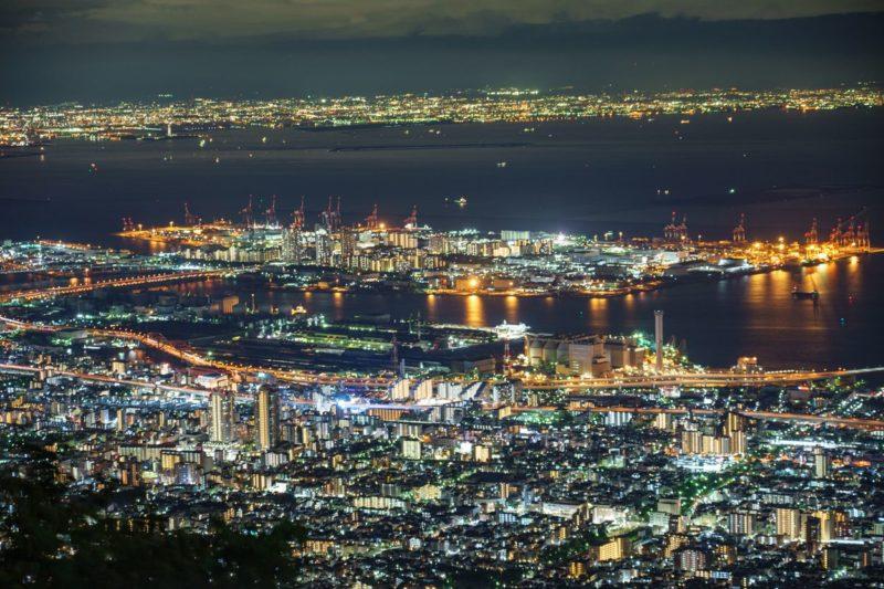 日本三大夜景摩耶山