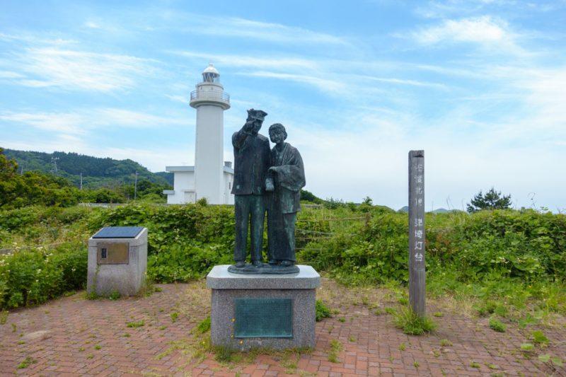 佐渡島の銅像