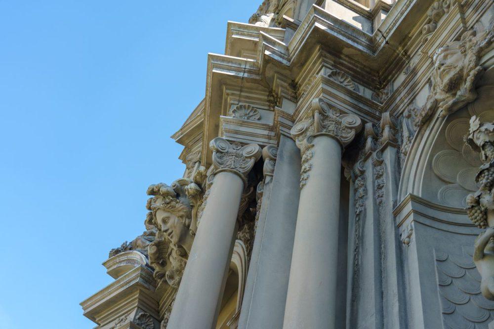 宮殿の細部