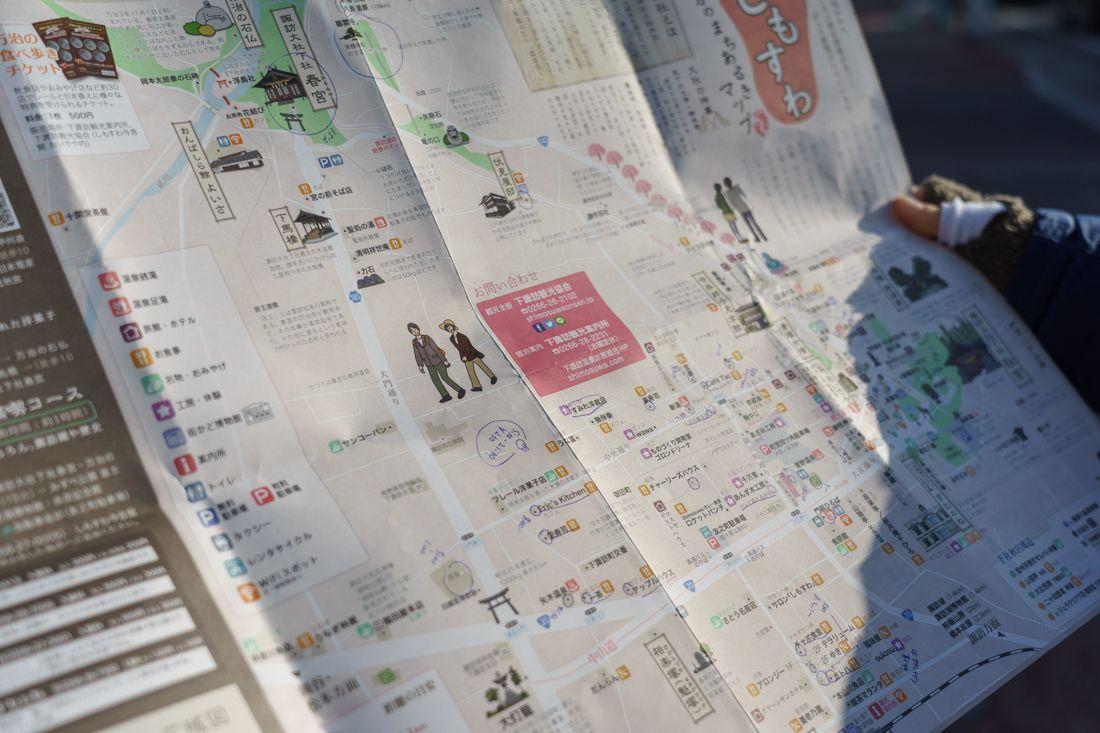 下諏訪 地図