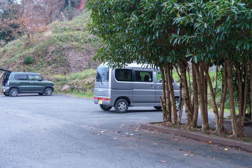 浮羽稲荷神社駐車場