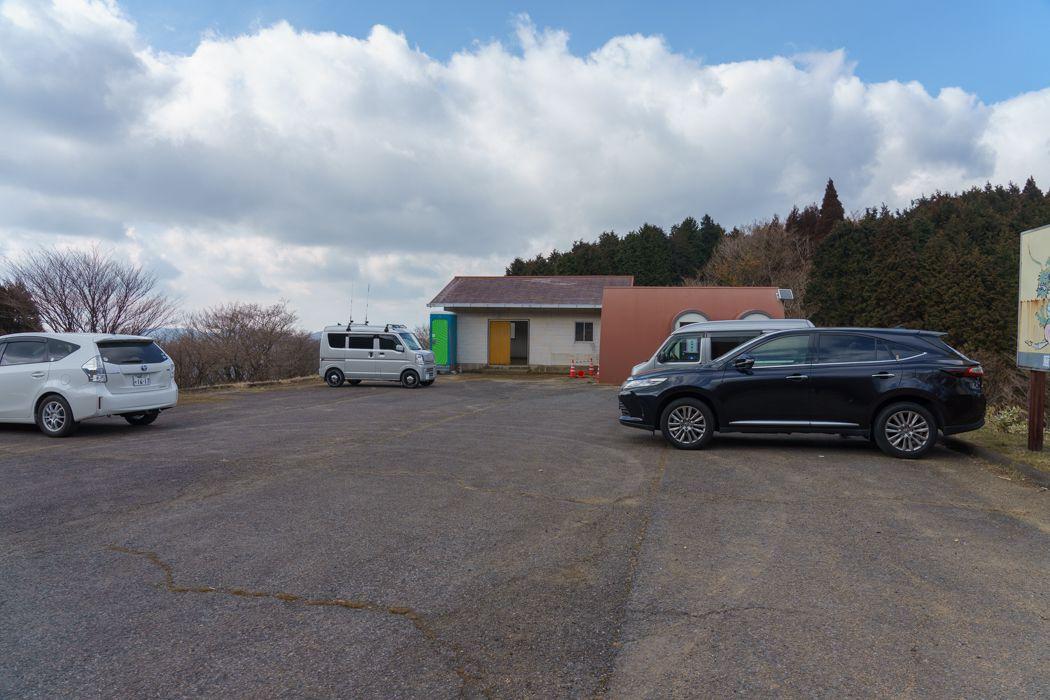 天山駐車場