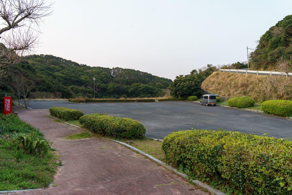 鶴御崎の駐車場