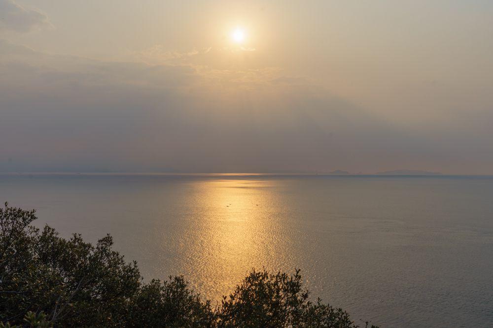 絶景の太陽