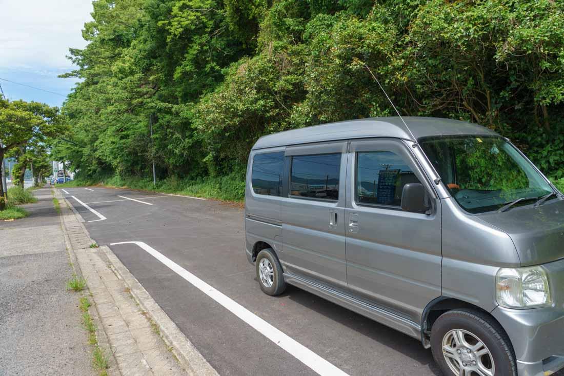 濃霞山公園 駐車場