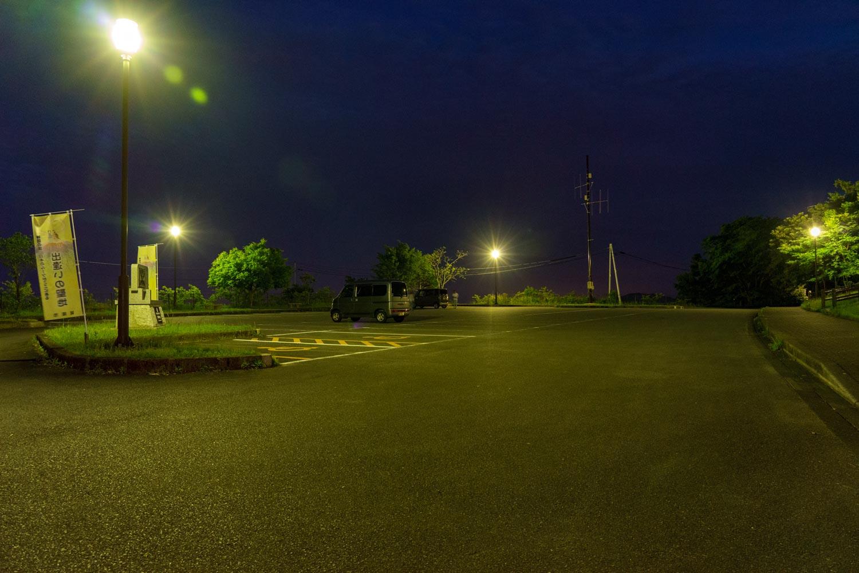 愛宕山展望台駐車場
