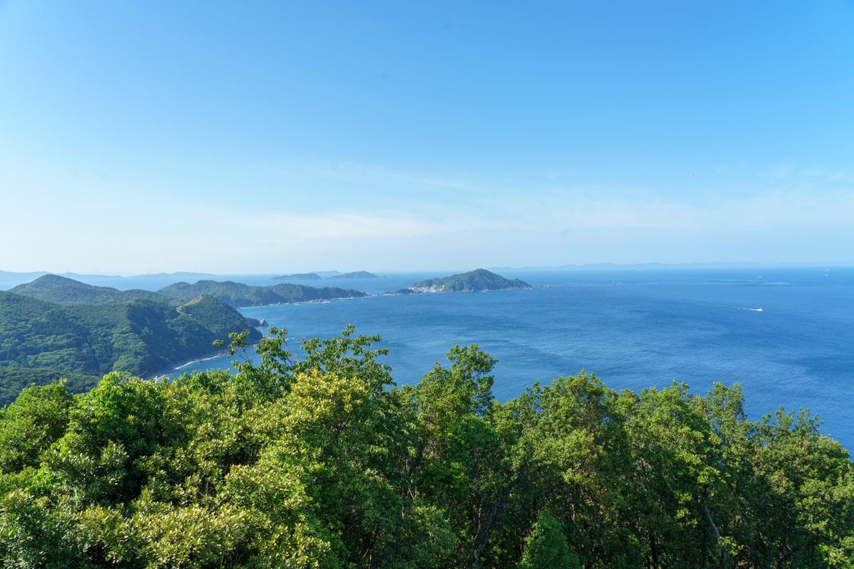 蒲戸崎展望台からの絶景