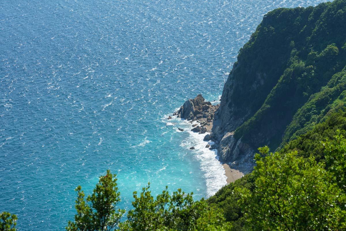 海の色が違った 蒲戸崎展望台からの絶景