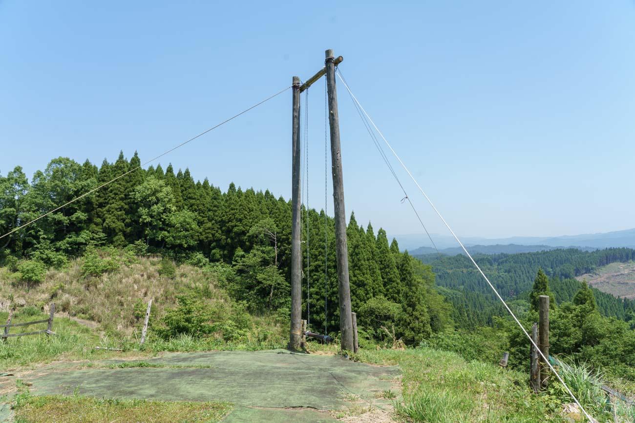 脇田公園 天空のブランコ