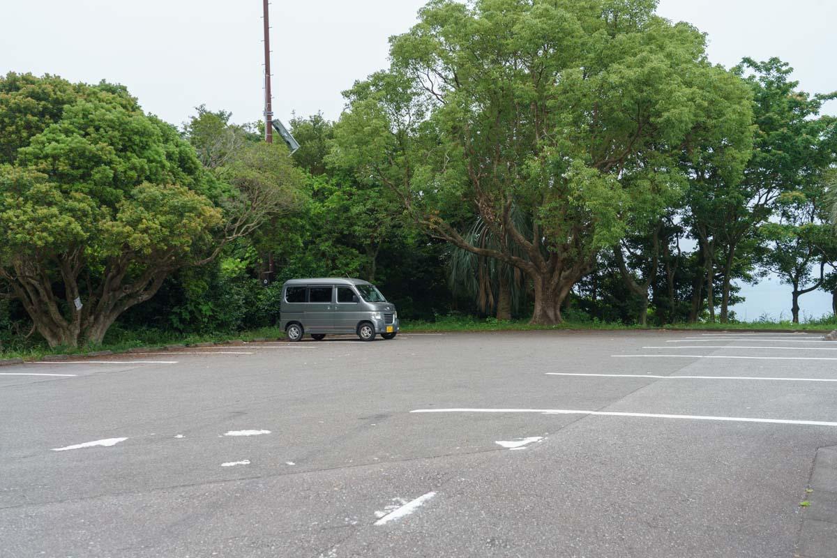 クルスの海駐車場