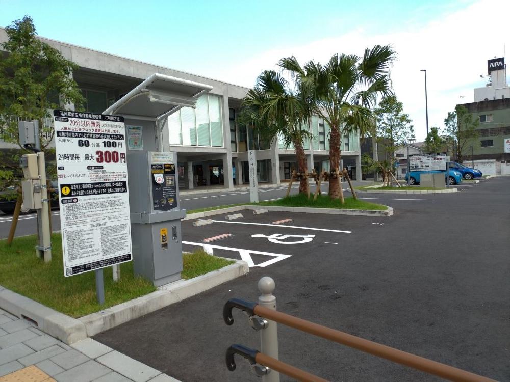 延岡駅前広場駐車場