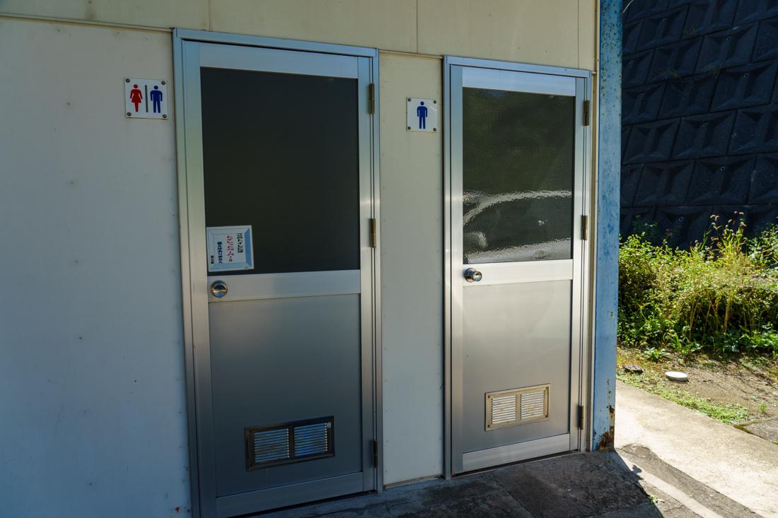 筒石駅トイレ