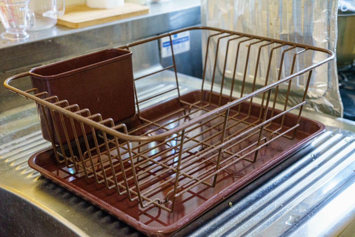 台所の水切り・カビやすい